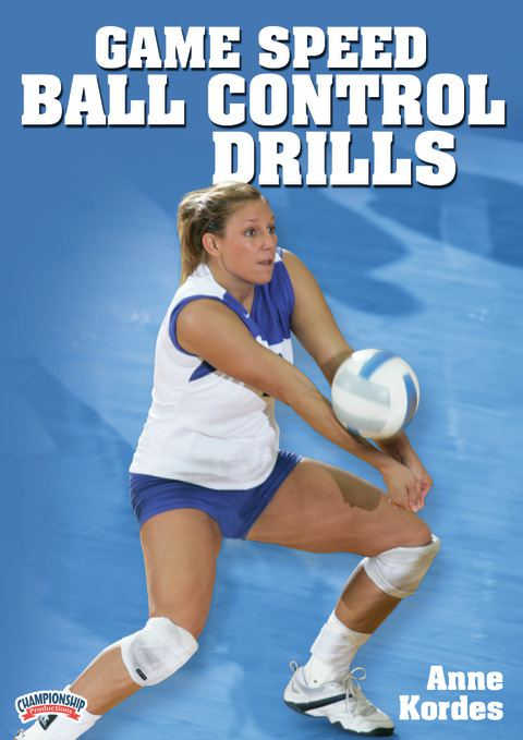 Game Speed Ball Control: Volleyball Team Drills presented by Anne Kordes