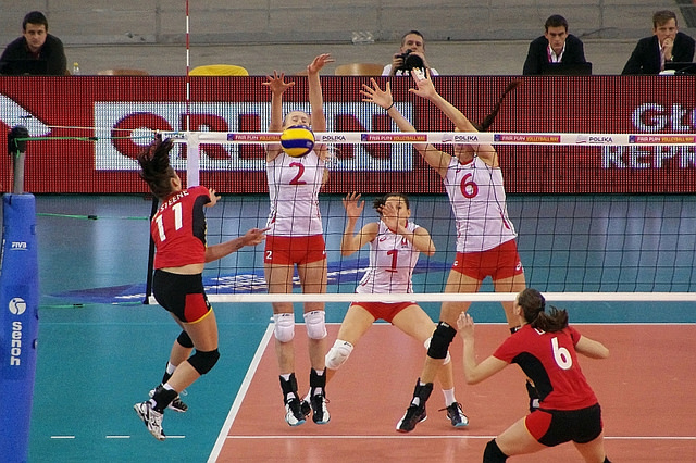 Glossary of volleyball terms for blocking (Jaroslaw Popczyk)