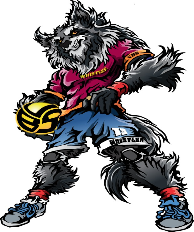 Volleybragswag Wolf Coloring Pages