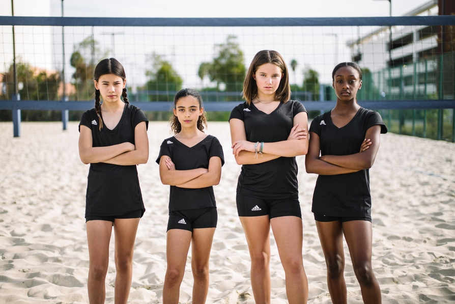 The volleyball uniform consists of two pieces according to the official rule book a jersey to cover your upper body and shorts to cover your lower body while playing (Adidas Volleyball)
