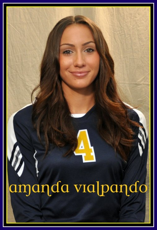 College Volleyball Player Amanda Vialpando