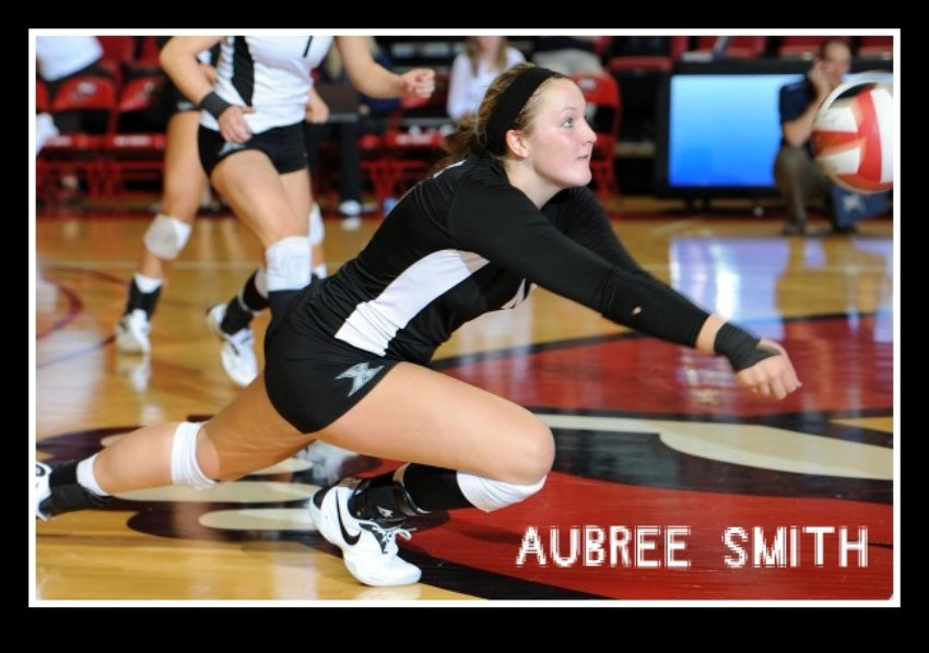 Meet Aubree Smith one of the top college volleyball setters in the A-10 conference.