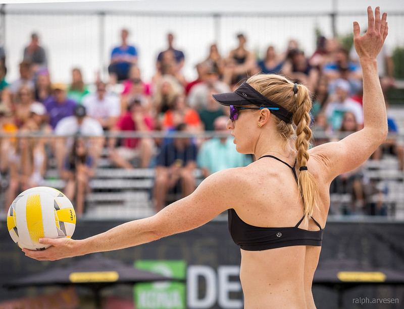 Beach Volleyball Rules: In 2001, the AVP introduced the
