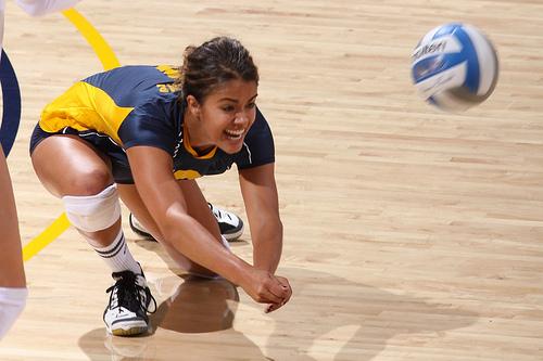 Kristin Winkler, Volleyball Defensive Player aka Libero