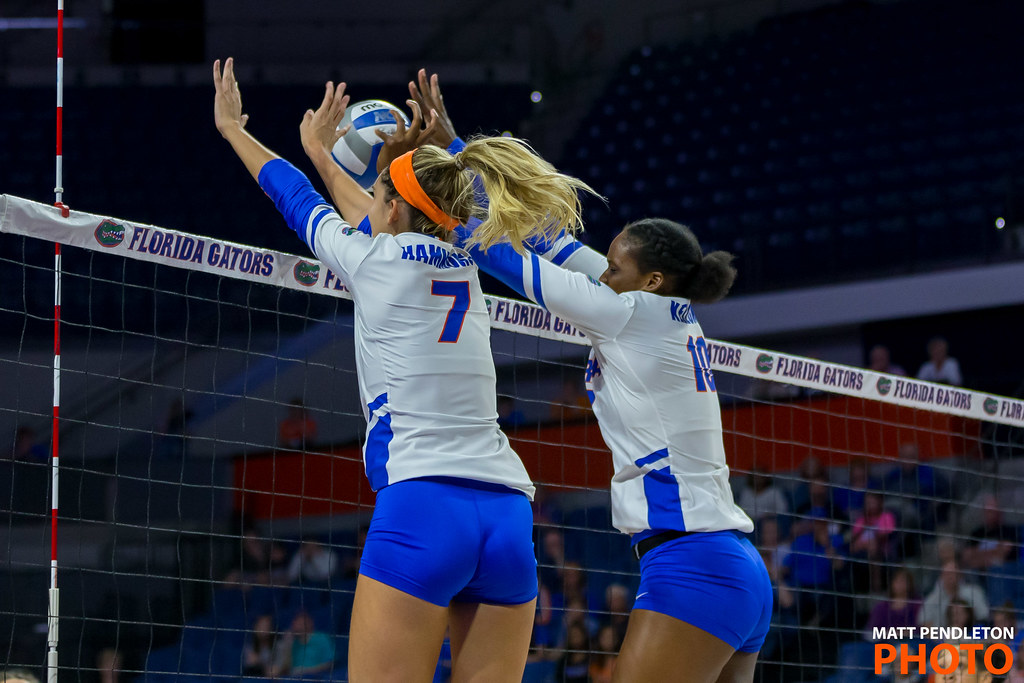 Blocking Volleyball Tips: From your squat... jump, squaring your shoulders to the net. Arms need to