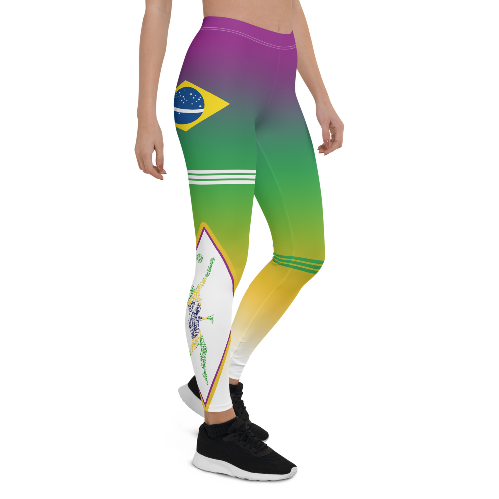 Volleyball Tights For Liberos Brazil Inspired Volleyball Leggings