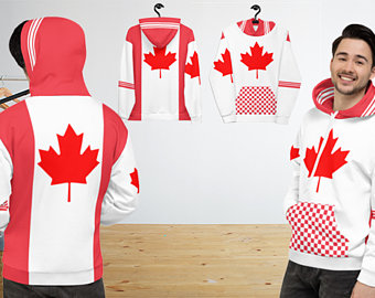 My colorful country flag inspired unisex oversized volleyball hoodies by Volleybragswag are now sold on ETSY and are inspired by flags from Japan, Poland, like this volleyball design from Canada.