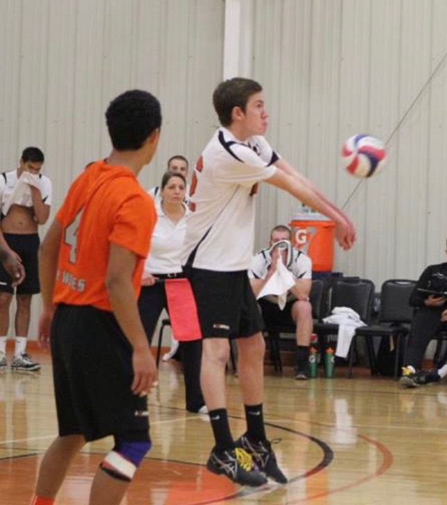 Evan Kinard, Lourdes DS and Serving Specialist, Saturday Semi Private Training Coach