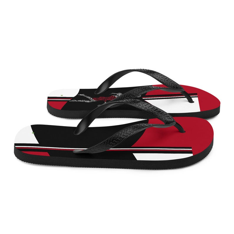 Volleybragswag Japan inspired volleyball flip flops available for volleyball players