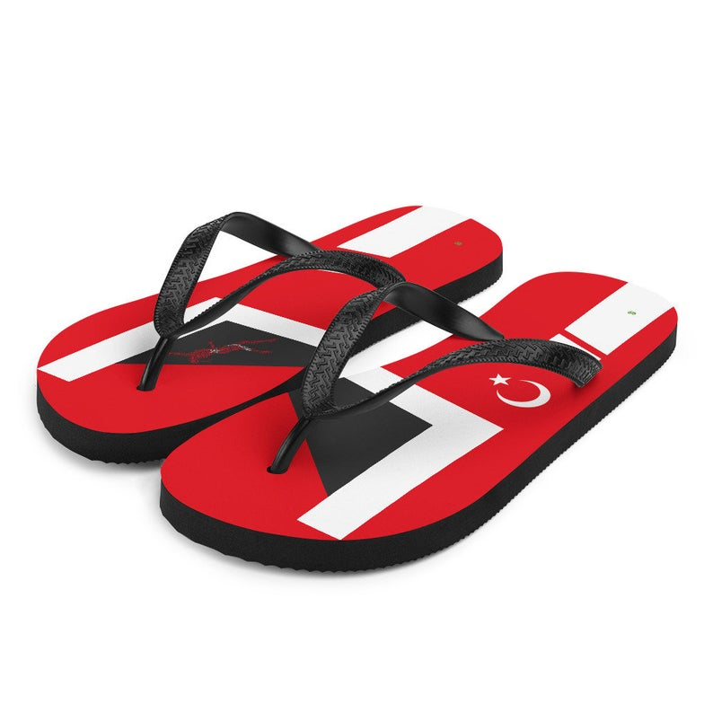 Volleybragswag turkey inspired volleyball flip flops available for volleyball players