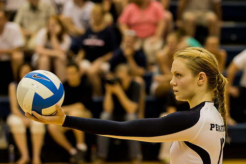 The serve is the only skill you can perform in volleyball all by yourself. Learn how to take advantage of this opportunity.