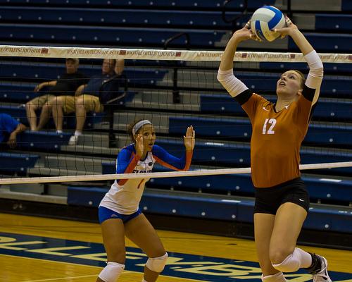 The Setter Volleyball Player: Longhorns setter