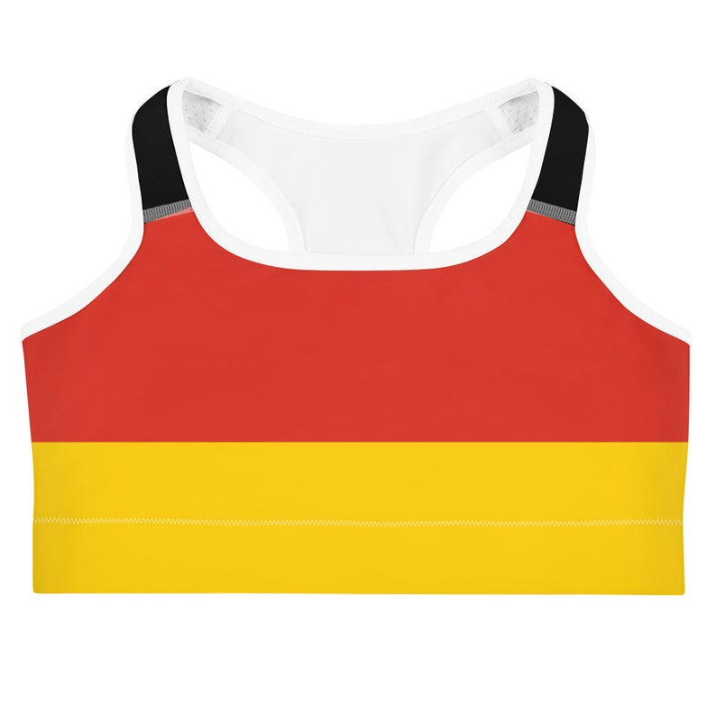 The German Flag Inspires Fun Trendy Designs For Volleybragswag Loungewear, Streetwear and Volleyball Outfits