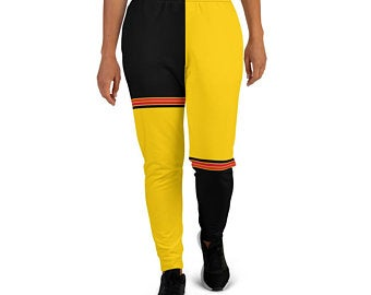 Create A Sports Bra Outfit With German Flag Inspired Designs! Click to Shop now on Etsy!