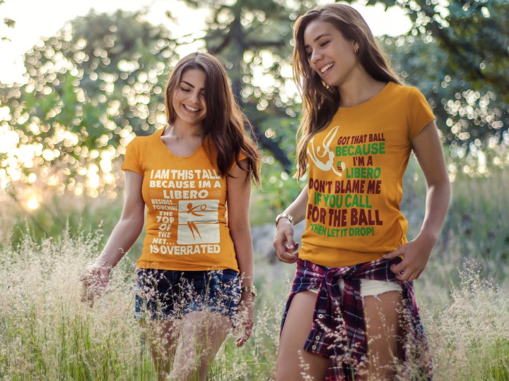 volleyball tshirt quotes: because i am a libero