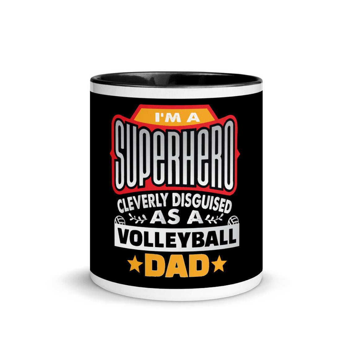 Check out the awesome SUPERHERO Volleyball Team Mom, Team Dad, Coach, Setter, Middle Blocker Mugs and click to shop in My Etsy Shop Now!