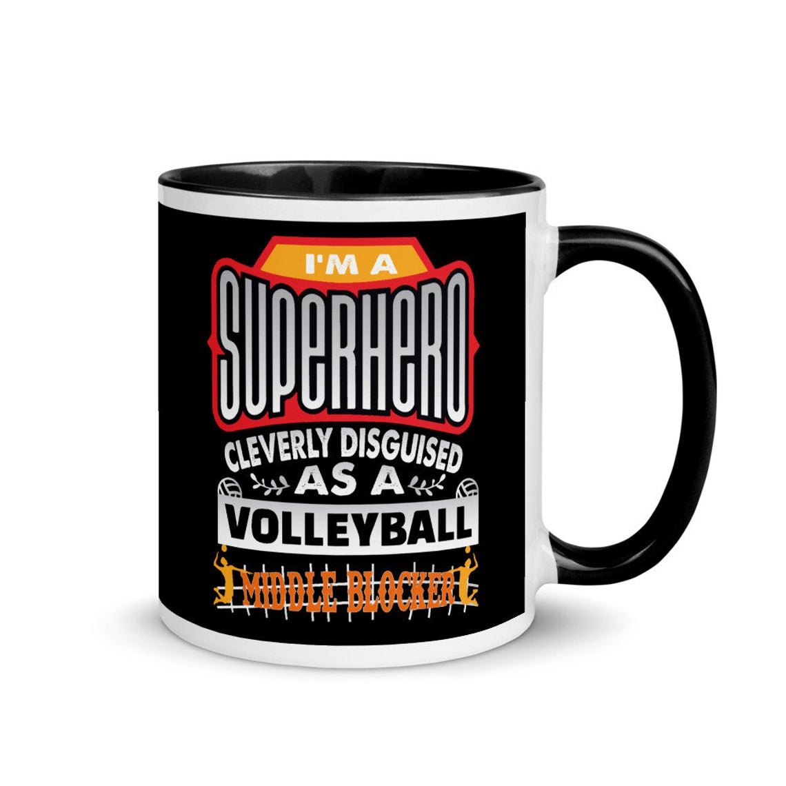 My Volleybragswag volleyabll mug collection includes mugs for hitters, liberos, blockers and coaches as well as the VBS Beast Collection featuring animal players.