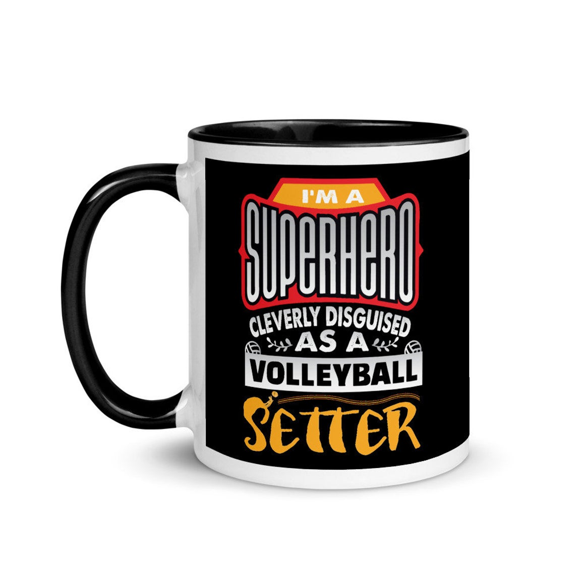 My Volleybragswag volleyball mug collection includes mugs for hitters, liberos, blockers and coaches as well as the VBS Beast Collection featuring animal players.