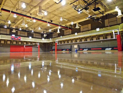 Dimensions of a volleyball court Indoor basketball court ceiling height