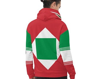 My colorful country flag inspired unisex oversized volleyball hoodies by Volleybragswag are now sold on ETSY and are inspired by flags from Japan, Poland, like this volleyball design from Italy.
