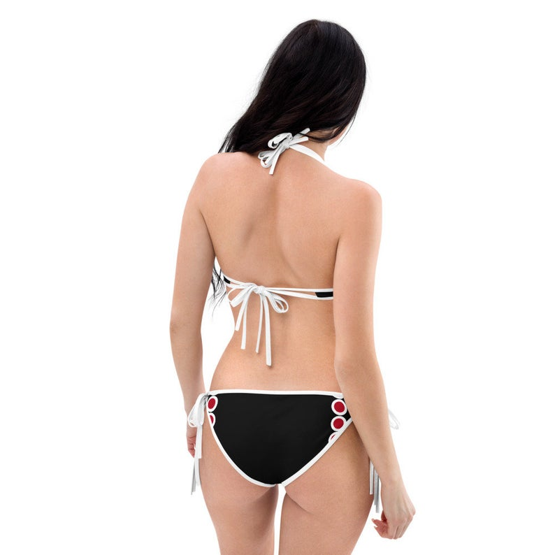 Create A Cute Beach Volleyball Outfit With Japan Flag Inspired Designs by Volleybragswag