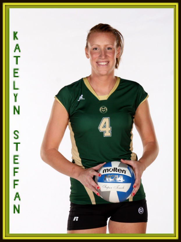 Colorado State Womens Volleyball Player Katelyn Steffan