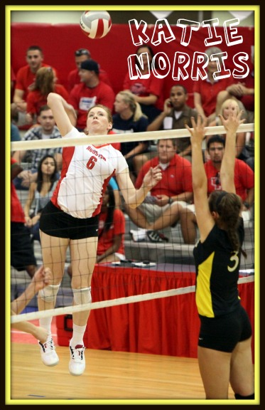 University of Houston Volleyball Player Katie Norris