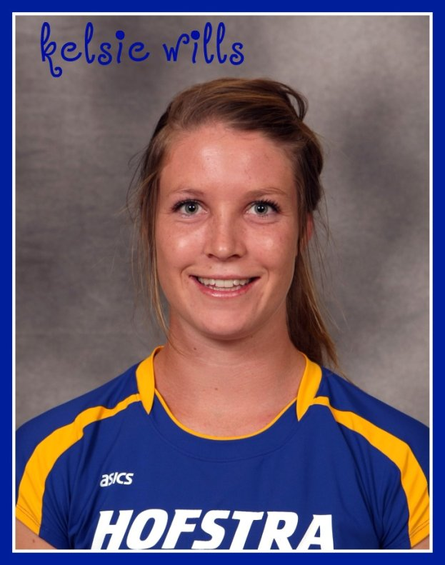 Volleyball Hitters: Hofstra volleyball hitter Kelsie Wills answered my volleyball interview questions.