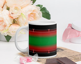 So you can mix, match and create a personal collection of your favorite coffee drinking mugs to match your green jogger pants