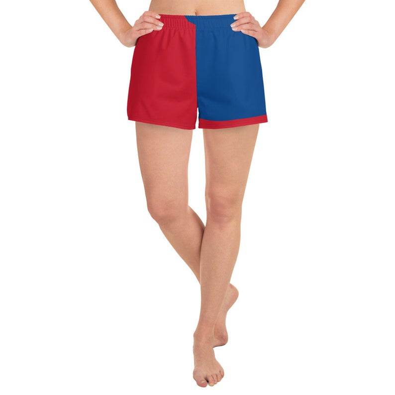 Now available are the Volleybragswag national flag of Korea inspired sports bra and shorts set combinations!
