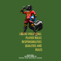 Libero Volleyball  Player Rules Responsibilities Qualities and Rules by April Chapple