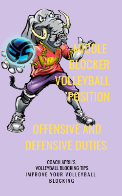 Middle Blocker Volleyball Position Offensive and Defensive Duties