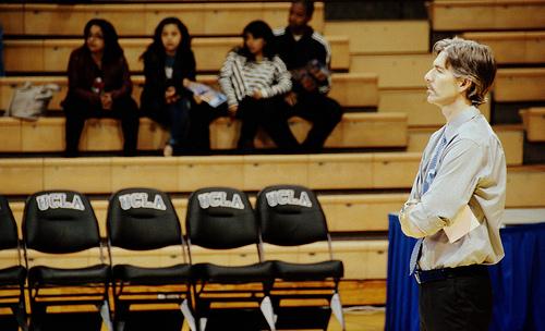UCLA Coach Mike Sealy