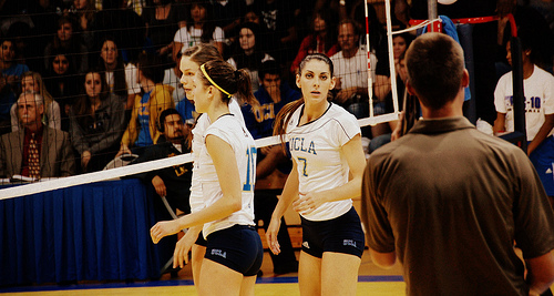 UCLA uniforms sponsored by Under Armour volleyball