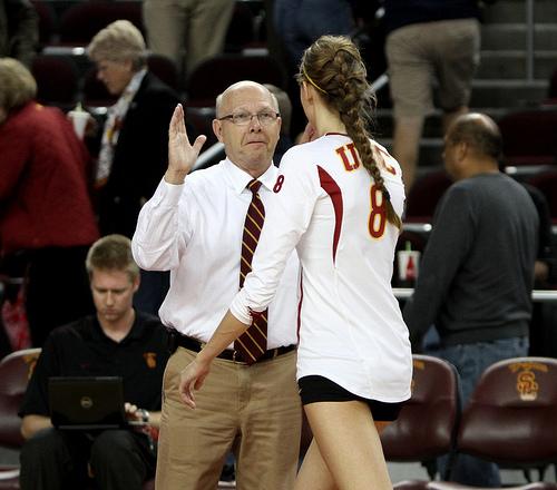 USC Coach Mick Haley