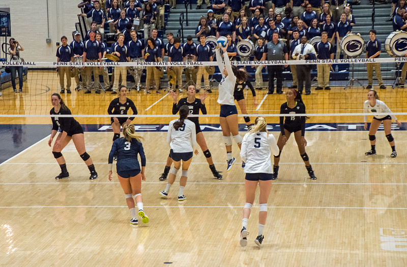 The volleyball words I describe below are a part of the common terminology that experienced setters and hitters use to communicate to each other. (Ralph Arvesen)