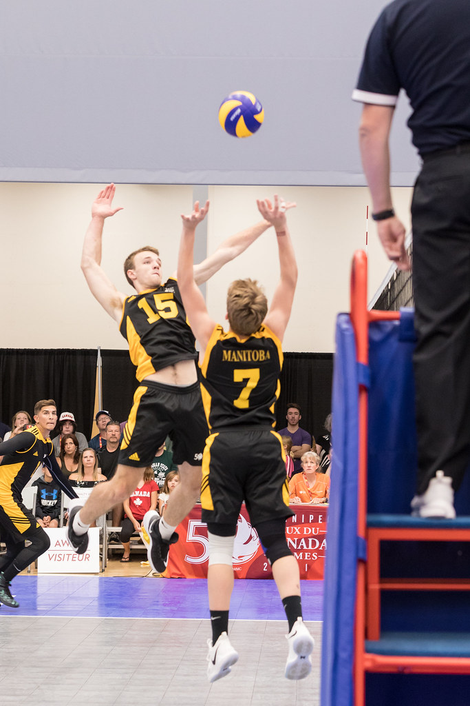 The setter position is the most important one because the setters are the unofficial leaders on the court. (Matt Dubrow)