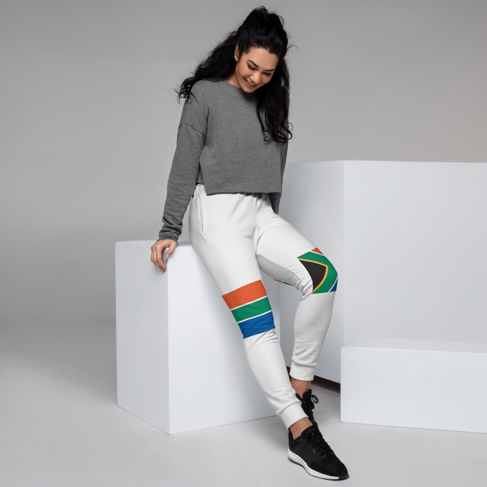 Jogger Pants For Girls Inspired by the flag of South Africa