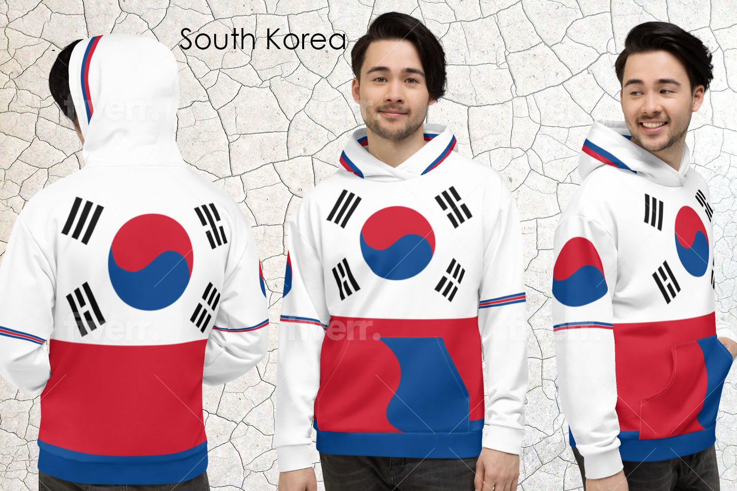 The National Flag of Korea Inspires Designs For Volleyball Outfits