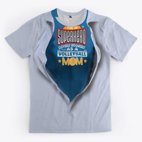 Super Hero Volleyball Mom Volleyball Shirt