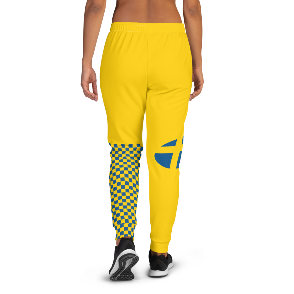 Volleybragswag Has The Most Comfortable Sweatpants with Pockets Inspired by the Flag of Sweden
