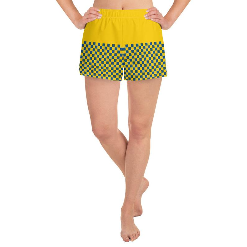 Now available are the Volleybragswag Swedish flag inspired sports bra and shorts set combinations!