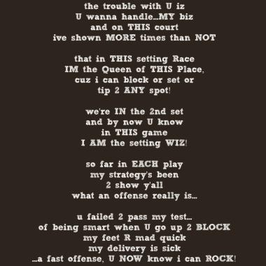 volleyball setter sayings