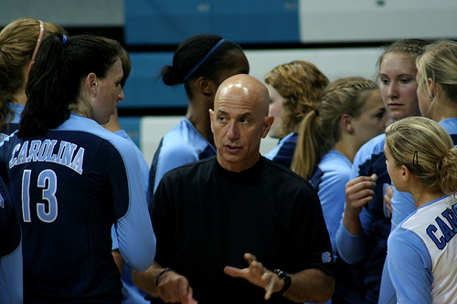 UNC Coach Sagula (photo Charlie J)