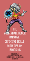 The Volleyball Block: Improve Defensive Skills With Tips on Blocking by April Chapple