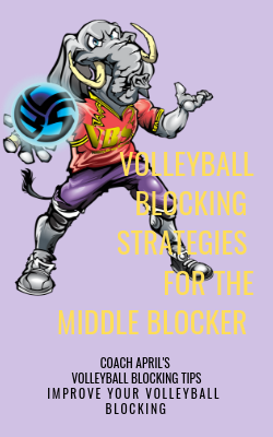 Volleyball Blocking Strategies for the Middle Blocker
