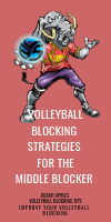 Volleyball Blocking Strategies For The Middle Blocker by April Chapple