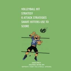 Volleyball Hit Strategy 6 Attack Strategies Smart Spikers Use To Score