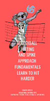 Volleyball Hitting Spike Approach Fundamentals Learn To hit Harder by April Chapple