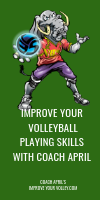 Improve Your Volleyball Playing Skills with Coach April